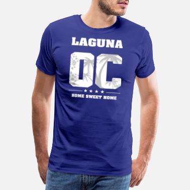Lagun Jag älskar LAGUNA - Orange County - Premium T-shirt herr
