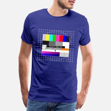 Test Picture I manches longues T-shirt The Theory Rétro Big style Nerd Bang symbole IMAGE DE TEST