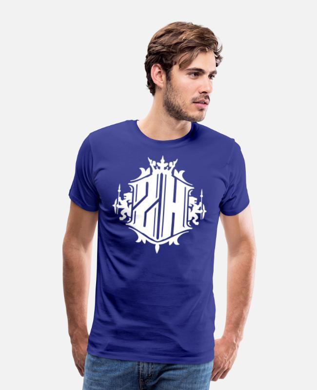 Zürich - Züri - Zurich - Löwe Männer Premium T-Shirt