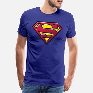 Superman Superman S-Shield Used Look 2 Teenager's T-Shirt - Mannen premium T-shirt