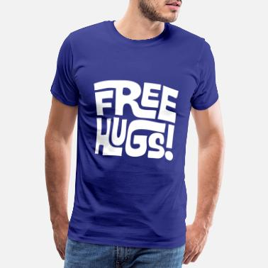 Free free hugs - Men's Premium T-Shirt