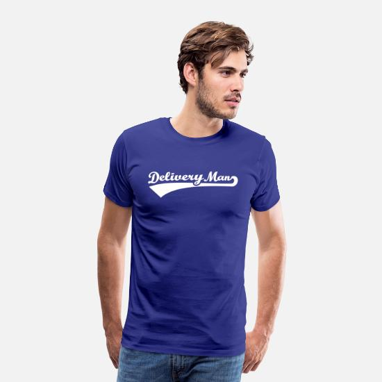 Package T-Shirts - Delivery man - Men's Premium T-Shirt royal blue