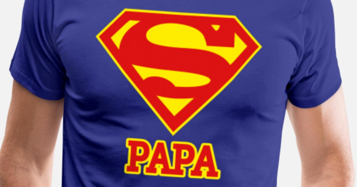 DC Comics Originals Superman Logo T-Shirt Premium Homme