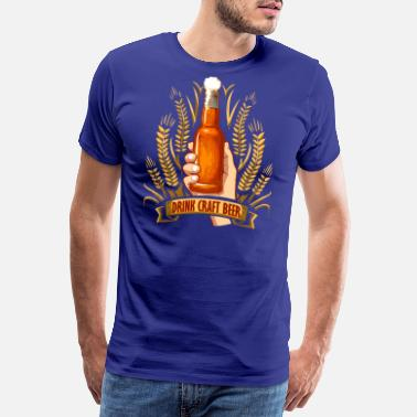 Beer Drink craft beer - Men's Premium T-Shirt
