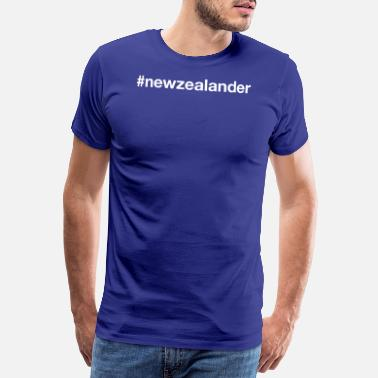 NEW ZEALAND - Premium T-skjorte for menn