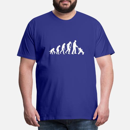 /Évolution du Singe Au Papa Poussette T-Shirt Premium Homme