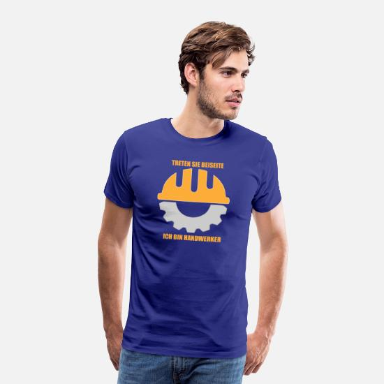 Occupation T-Shirts - Craftsman Graubart - Men's Premium T-Shirt royal blue