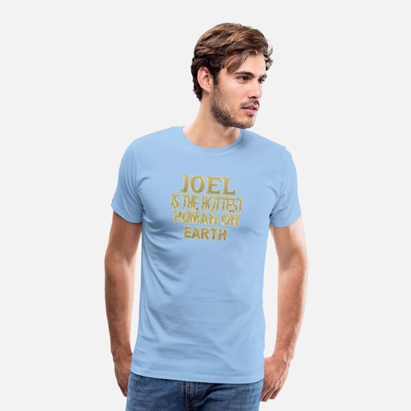 Joel Mannen Premium T Shirt Sky