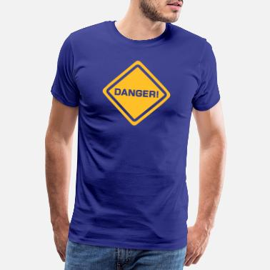 Danger Sign sign danger - Männer Premium T-Shirt
