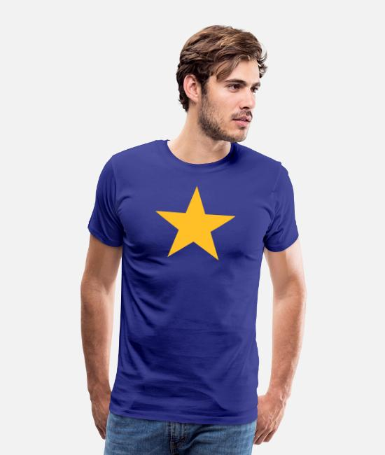 Jeg er Europa!, gul stjerne EU, European Union Premium T