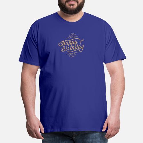 Happy 1st Birthday Mens Premium T Shirt