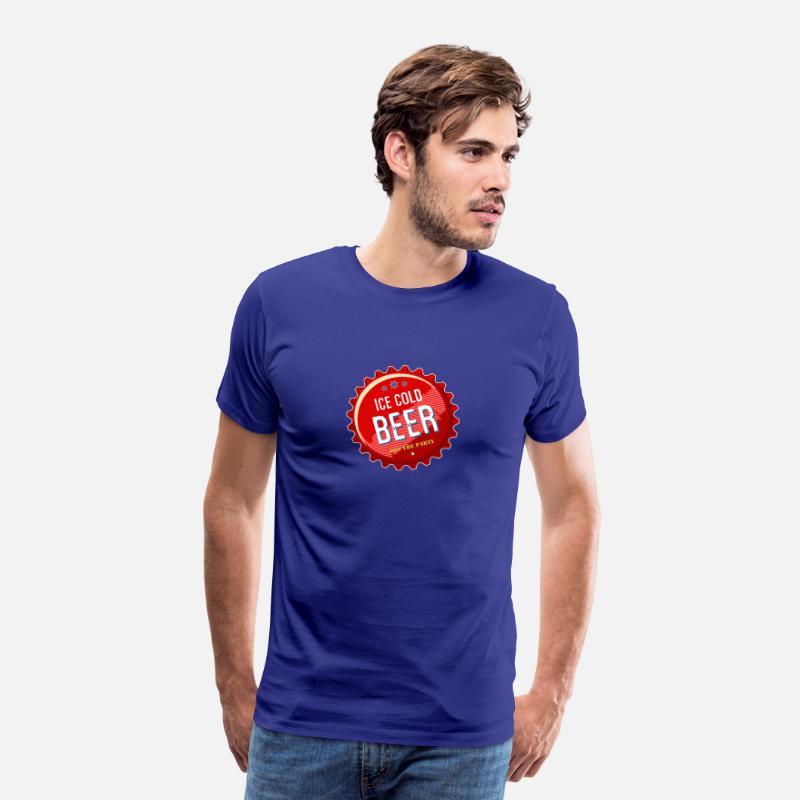 Oktoberfest Size Matters Premium T skjorte for menn