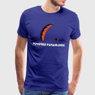 Powered Paraglider - Männer Premium T-Shirt