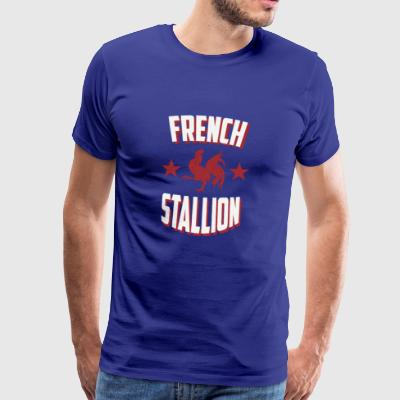 French Stallion - Men's Premium T-Shirt