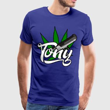 TONY - Premium T-skjorte for menn