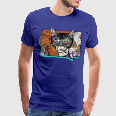 Crime Cat - Mannen Premium T-shirt