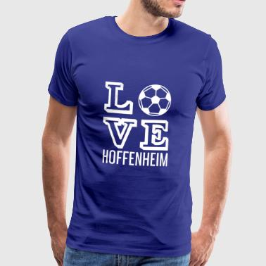 LOVE HOPE HJEMME - Premium T-skjorte for menn