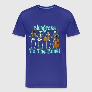 Bluegrass To The Bone! - Men's Premium T-Shirt