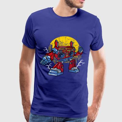 ROBOT BOOMBOX - Cartoon Comic Figure Shirt Gift - Men's Premium T-Shirt