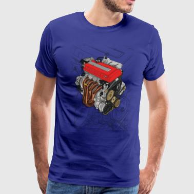 B16 Engine - Men's Premium T-Shirt
