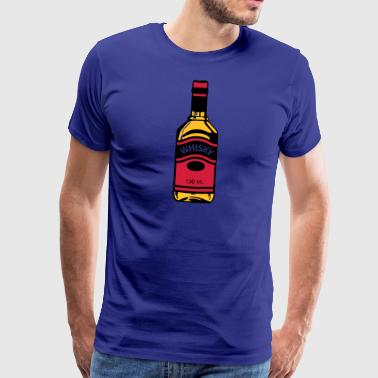 Whiskey Bottle - Men's Premium T-Shirt