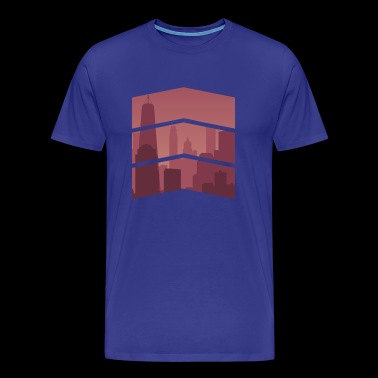 City horizon - Men's Premium T-Shirt