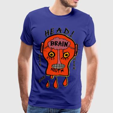Cut Head - Men's Premium T-Shirt