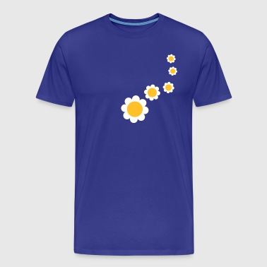 nature_flower_design_2c - Premium T-skjorte for menn