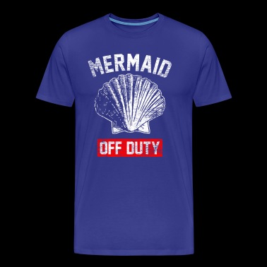 Mermaid off duty - Men's Premium T-Shirt