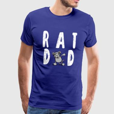 Rat Dad-Dab Dance - Rats Daddy - Dab Dance - Men's Premium T-Shirt
