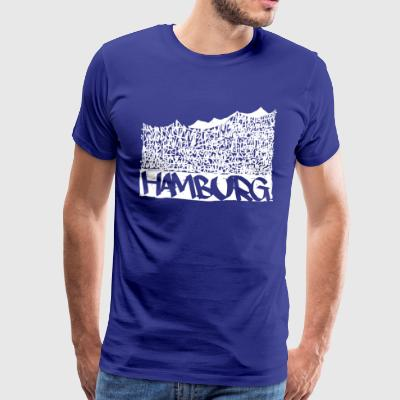 Hamburg Music Hall - White - Männer Premium T-Shirt