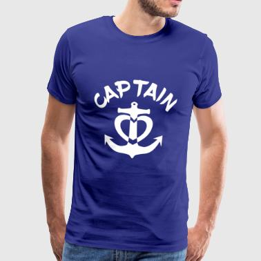 marin voile amour ancre capitaine Marine Yacht - T-shirt Premium Homme