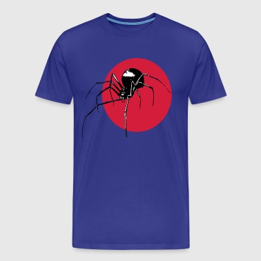 Spider - black widow - Mannen Premium T-shirt