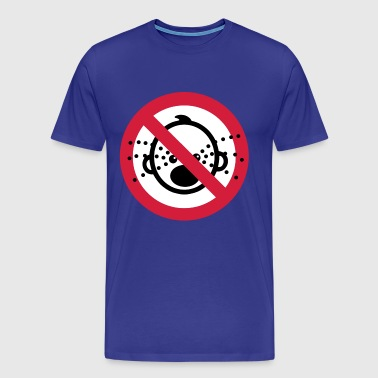 Funny NO Cry Babies Sign - Men's Premium T-Shirt