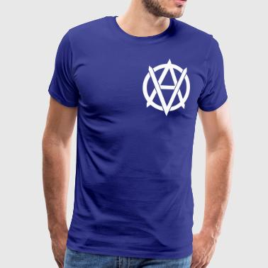 ATLAS symbool wit - Mannen Premium T-shirt
