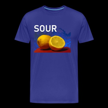 Fruit sour lemons Fresh sour - Men's Premium T-Shirt