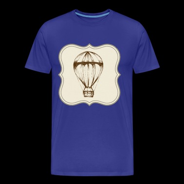 Vintage hot air balloon - Men's Premium T-Shirt