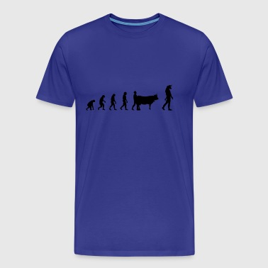 Evolution Mythologie - Männer Premium T-Shirt