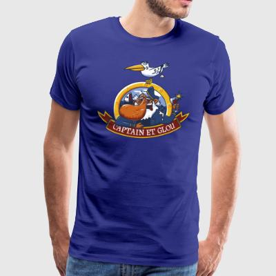 Captain and glou - Men's Premium T-Shirt
