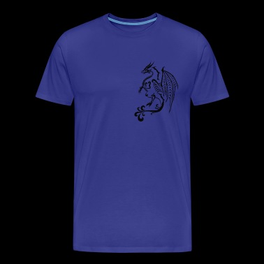 dragon stylisé - T-shirt Premium Homme