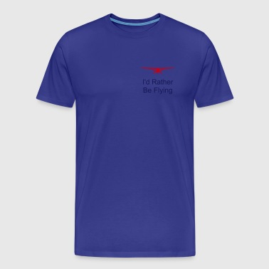 cessna head on - Men's Premium T-Shirt