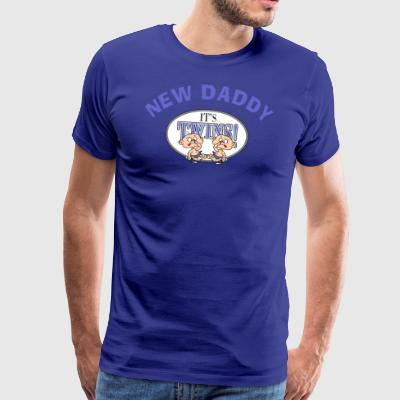 New Daddy It's Twins - Men's Premium T-Shirt