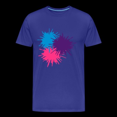 Paint splodge - Men's Premium T-Shirt