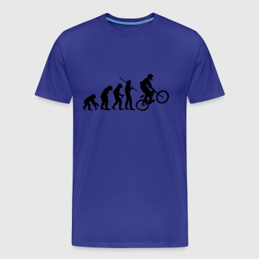Evolution Mountain Bike - Männer Premium T-Shirt