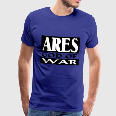 Ares _-_ God_Of_War - Premium T-skjorte for menn