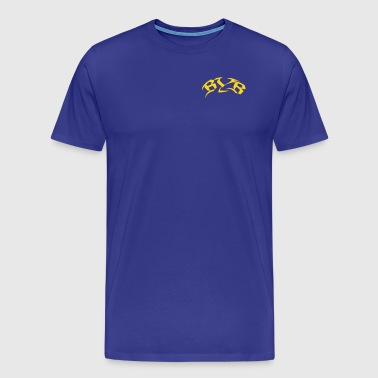 Blue Yellow Boy T-Shirt - Männer Premium T-Shirt