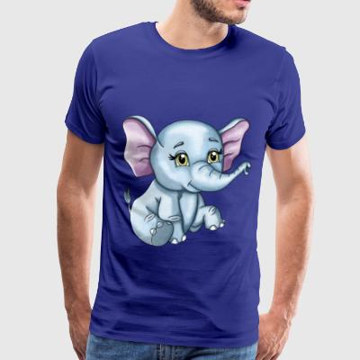 Elephant Sissi - Men's Premium T-Shirt