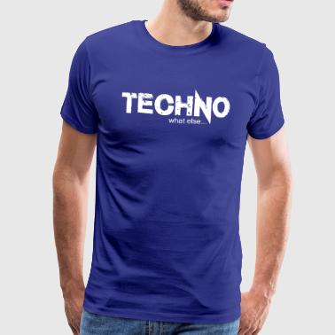 TECHNO what else.... Design 2 - Männer Premium T-Shirt