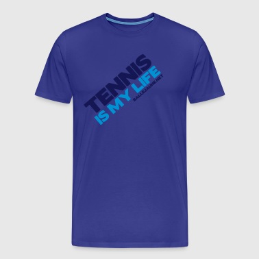 tennis-is-my-life - T-shirt Premium Homme