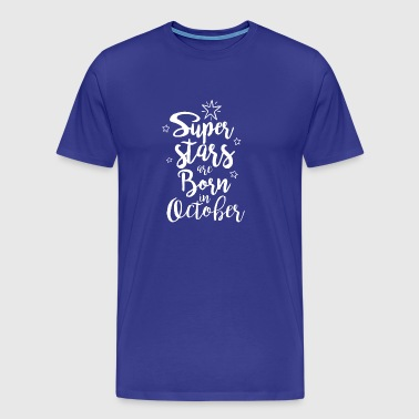Birthday gift girlfriend in October - Men's Premium T-Shirt